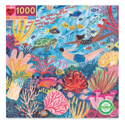 Eeboo Coral Reef 1,000 Piece Puzzle Box