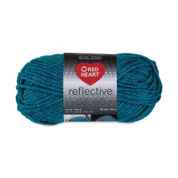 Red Heart Reflective Yarn - Peacock