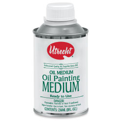 Utrecht Oil Painting Medium - 8 oz bottle