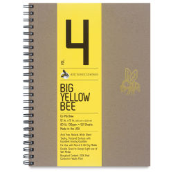 Big Yellow Bee Co-Mo Sketchbook - 12'' x 9'', Wire Bound, 50 Sheets