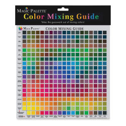 Magic Palette Color Selector and Mixing Guide - Personal Size, 11 1/2'' x 11 1/2''