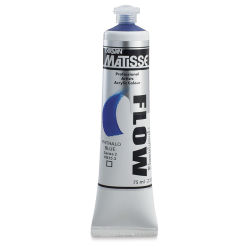 Matisse Flow Acrylic Phthalo Blue, 75 ml