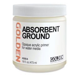 Golden Absorbent Ground - White, 16 oz jar