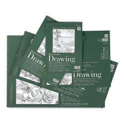 Strathmore 400 Series Recycled Paper Drawing Pads, Assorted Sizes