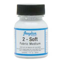 Angelus Leather Medium - 2-Soft Fabric Medium, 1 oz