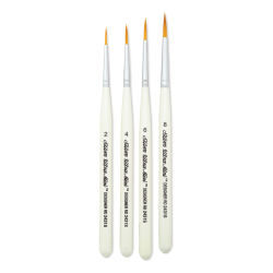 Silver Brush Ultra-Mini Brush Set - Ultimate Round Brushes, Set of 4