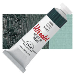 Utrecht Artists' Oil Paint - Viridian, 37 ml tube