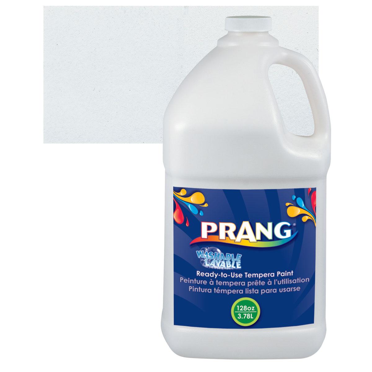 Prang Ready-To-Use Washable Tempera Paint - White, Gallon