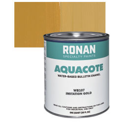 Ronan Aquacote Water-Based Acrylic Colors - Imitation Gold Quart