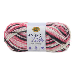 Lion Brand Basic Stitch Anti-Pilling Yarn - Rosewood, 185 yds