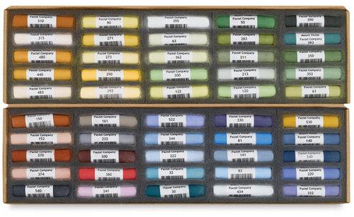 Mount Vision Soft Pastel Set - Landscape Colors, Set of 50