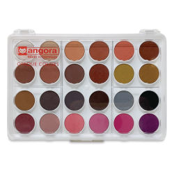 Talens Angora Watercolor Inclusive Skin Tone Set - Set of 24 Colors, Pans. In package.