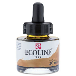 Ecoline Liquid Watercolor with Dropper - Yellow Ochre, 30 ml jar
