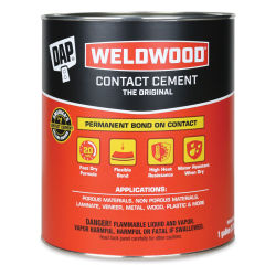 DAP Weldwood Original Contact Cement - 128 oz, Can