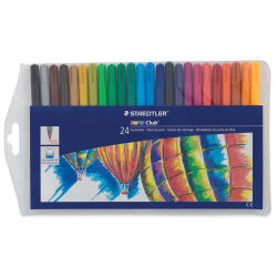Staedtler Noris Club Fiber Tip Markers - Set of 24