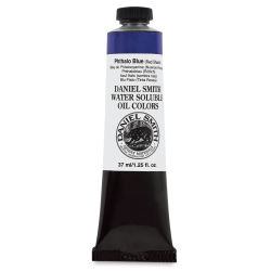 Daniel Smith Water-Soluble Oil - Phthalo Blue (Red Shade), 37 ml Tube