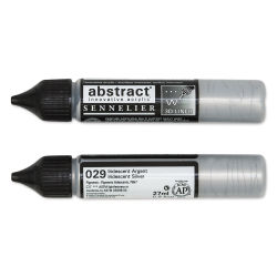 Sennelier Abstract 3D Liner - Iridescent Silver, 27 ml