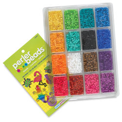 Tray of Beads with Idea Book