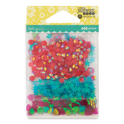 Hampton Art Shaker Fillers - Birthday Confetti, Pkg of 3