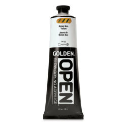 Golden Open Acrylics - Nickel Azo Yellow, 5 oz, Tube