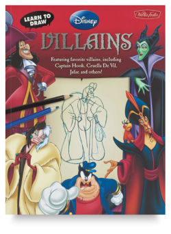 Learn to Draw Disney: Villains (Paperback)