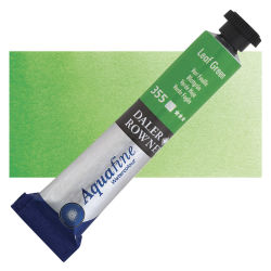Daler-Rowney Aquafine Watercolors and Sets - Leaf Green, 8 ml, Tube