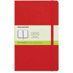 Moleskine Classic Notebook - Blank, 8-1/4'' x 5'', 240 Pages