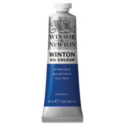 Winsor & Newton Winton Oil Color - Phthalo Blue, 37 ml tube