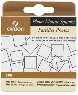 Photo Splits Mounting Squares, Pkg of 500