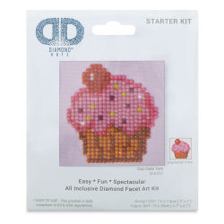 Diamond Dotz - Cup Cake Yum, 3'' x 3''