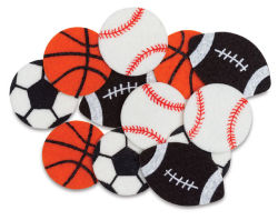 Shapes: Sports Balls, 12 Pcs