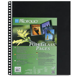 Itoya PolyGlass Refill Page Pack - 11'' x 14'', Portrait, Pkg of 10