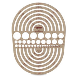 Chartpak Pickett Template - 1202i Circle Radius Master