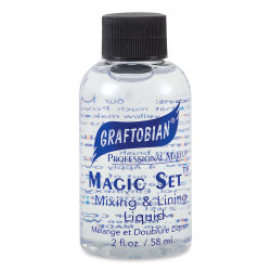 Graftobian Magic Set Mixing and Lining Liquid - 2 oz Bottle