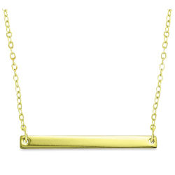 ImpressArt Personal Impressions Necklace Kit - Large Rectangle, Gold, Set of 5