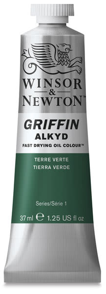 Winsor & Newton Griffin Alkyds - Terre Verte, 37 ml tube