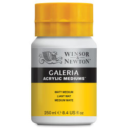 Winsor & Newton Galeria Acrylic Medium - Matte, 250 ml bottle