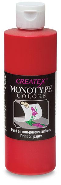 Createx Monotype Colors - Crimson, 8 oz bottle