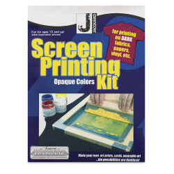 Jacquard Screen Printing Kit - Opaque Colors