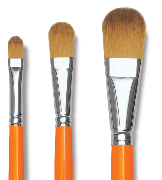 Series 8796 Size 12 Flat Raphael Kaerell Synthetic Watermedia Brush