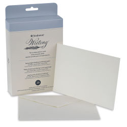 Strathmore 500 Series Writing Cards - Flat Cards, 4-3/4'' x 6-1/2'', Pkg of 20