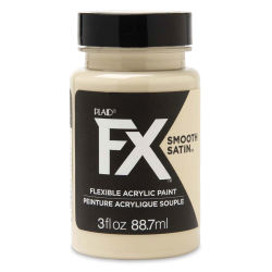 Plaid FX Smooth Satin Flexible Acrylic Paint - Desert Sand, 3 oz
