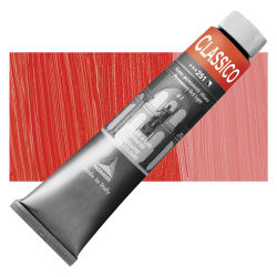 Maimeri Classico Oil Color - Permanent Red Light, 200 ml tube