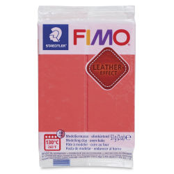 Staedtler Fimo Leather Effect Clay - Watermelon, 2 oz