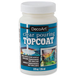 DecoArt Clear Pouring Topcoat - 8 oz