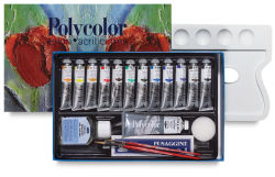 Maimeri Polycolor Vinyl Paints - Painting Set, Set of 20 colors, 20 ml tubes