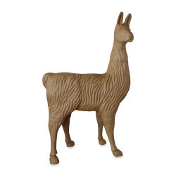 DecoPatch Extra Large Paper Mache Animal - Llama