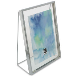 Umbra Wedge Frame - Chrome, 5'' x 7''