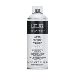Liquitex Professional Spray Paint - Transparent Mixing White, 400 ml can