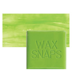 Enkaustikos Wax Snaps Encaustic Paints - Vernal, 40 ml, Cake with Swatch